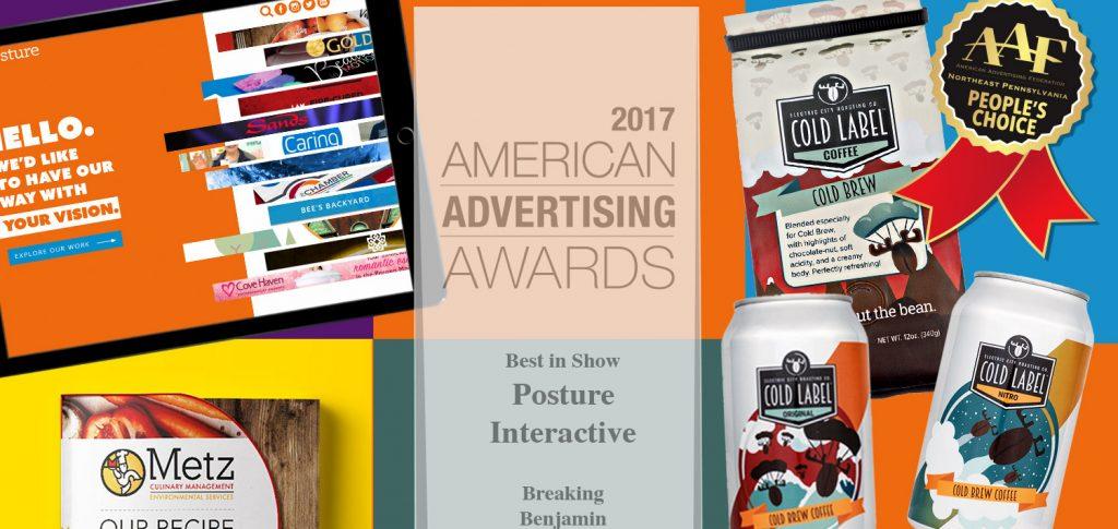Posture Interactive - American Advertising Awards - AAF Scranton